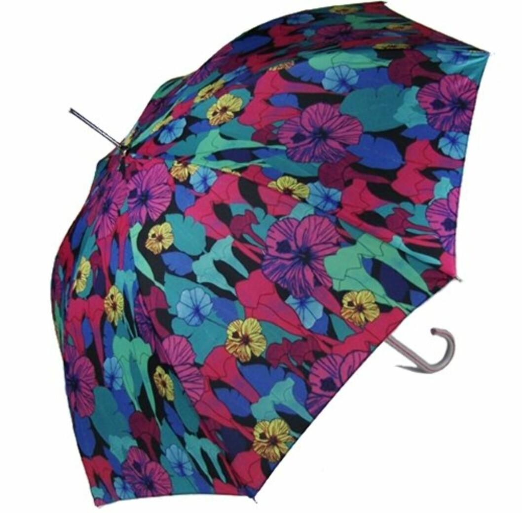 Stor og blomstrete (ca kr 400/umbrellas.net). Foto: Produsent