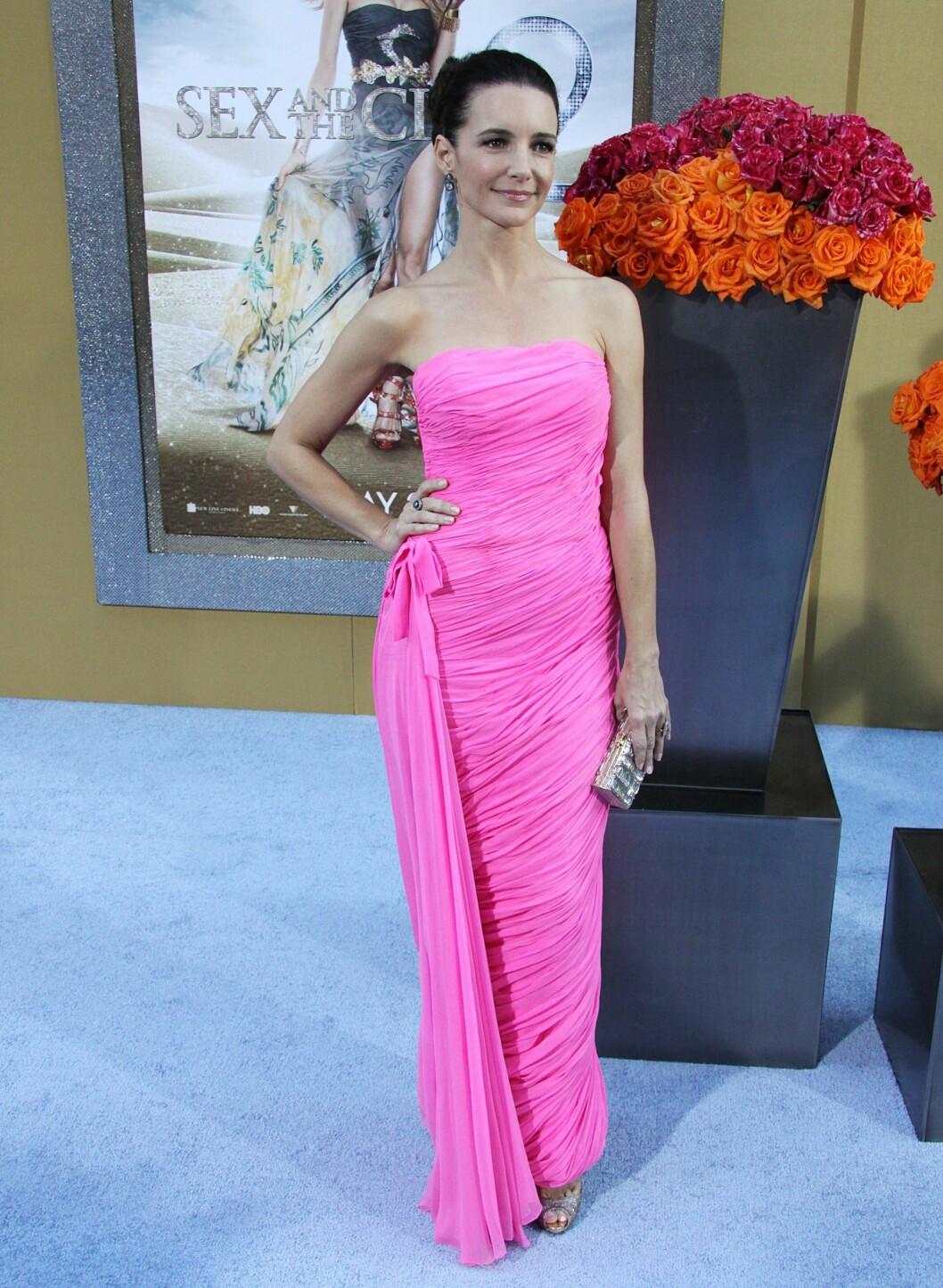 Kristin Davis har rollen som Carries bestevenninne Charlotte York. Foto: All Over Press