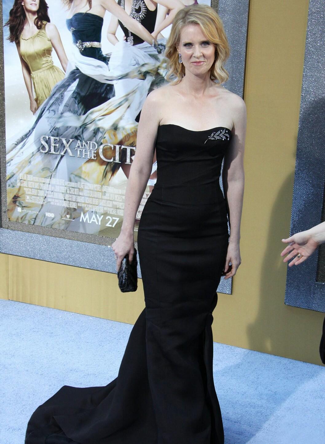 Cynthia Nixon har rollen som Miranda Hobbes. Foto: All Over Press