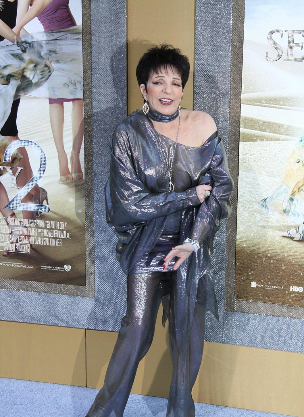 ...samt sanger og skuespiller Liza Minnelli. Foto: All Over Press