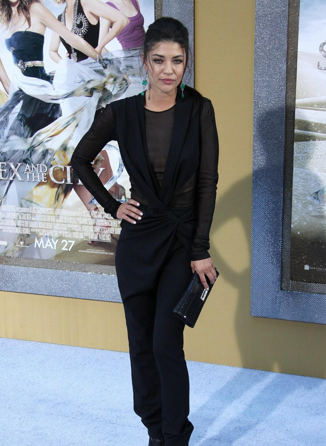 """... og Gossip Girl-stjernen Jessica Szohr, TV-serien som av mange ses på som """"den nye Sex og Singelliv"""". Foto: All Over Press"""