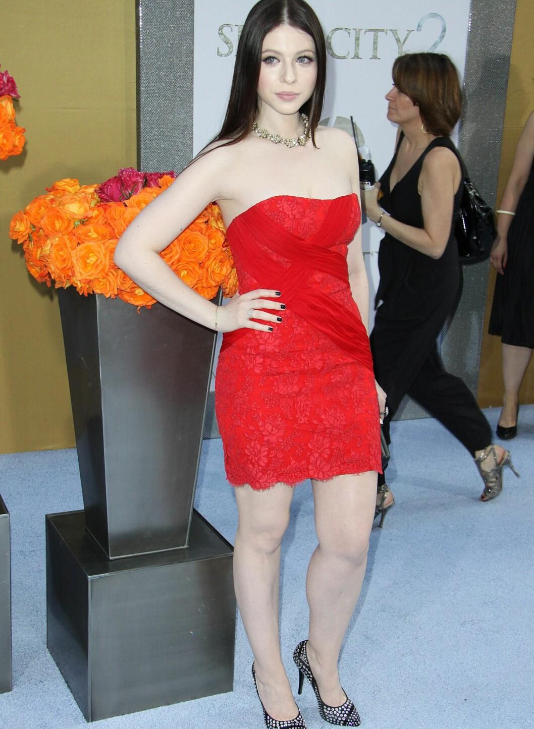 Skuespiller Michelle Trachtenberg er også kjent fra Gossip Girl. Foto: All Over Press