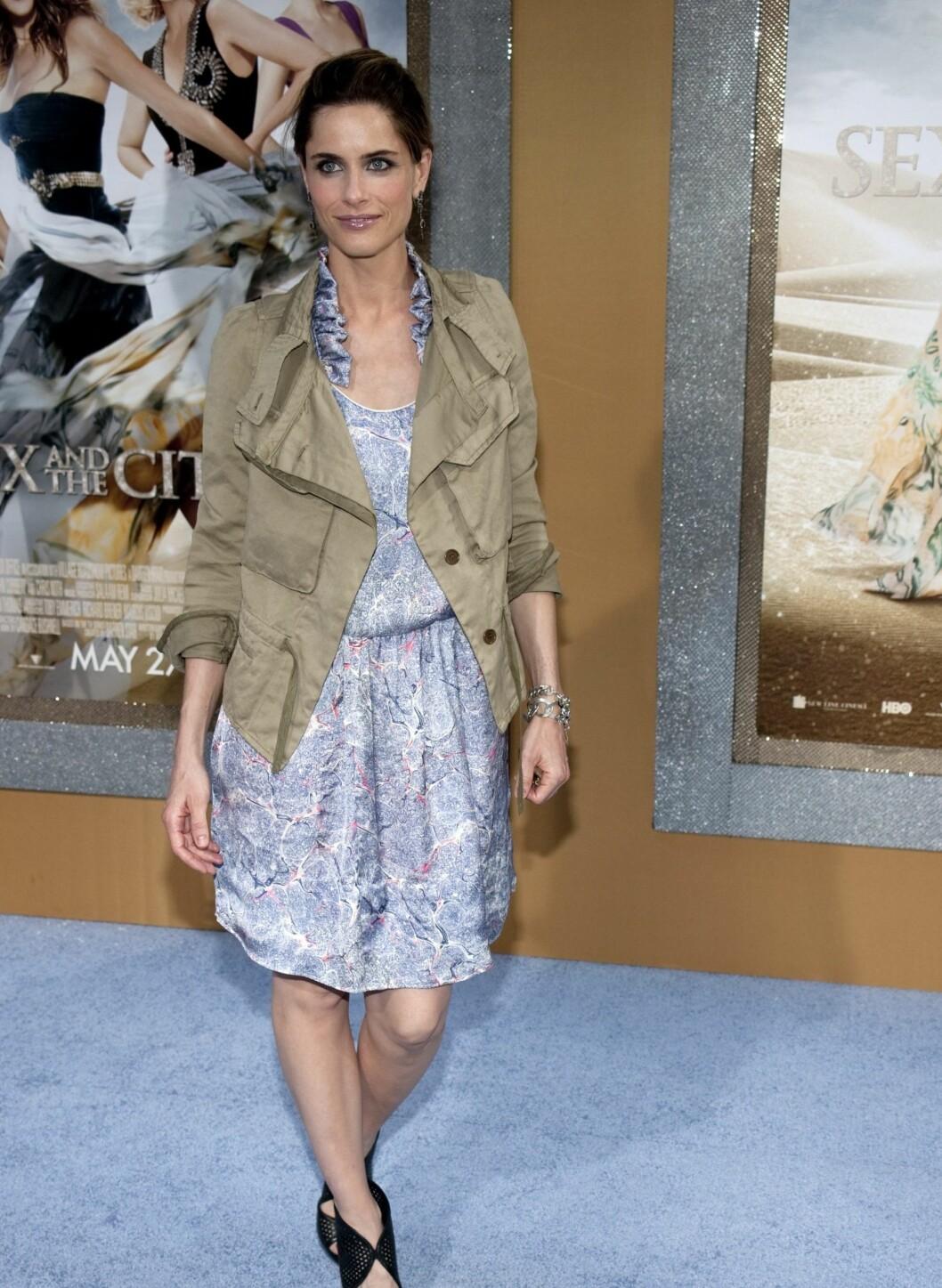 Skuespiller Amanda Peet var også på premieren. Foto: All Over Press