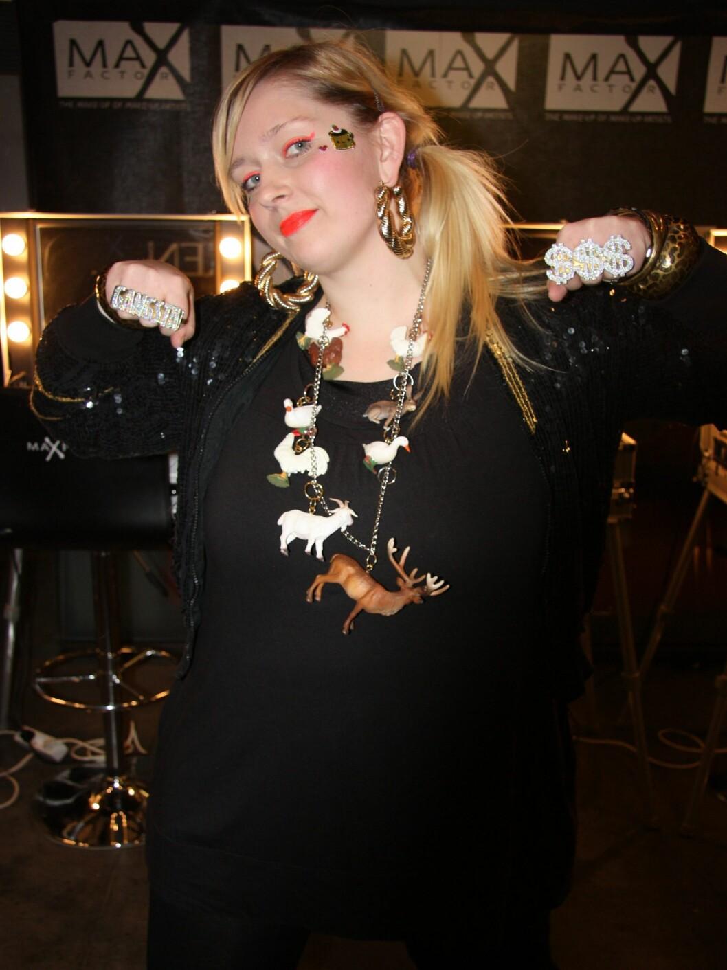 <strong>STOD FOR MUSIKKEN:</strong> Norske Miss Harmonica, opp til dans med låter fra albumet «Champagne, caviar and me».