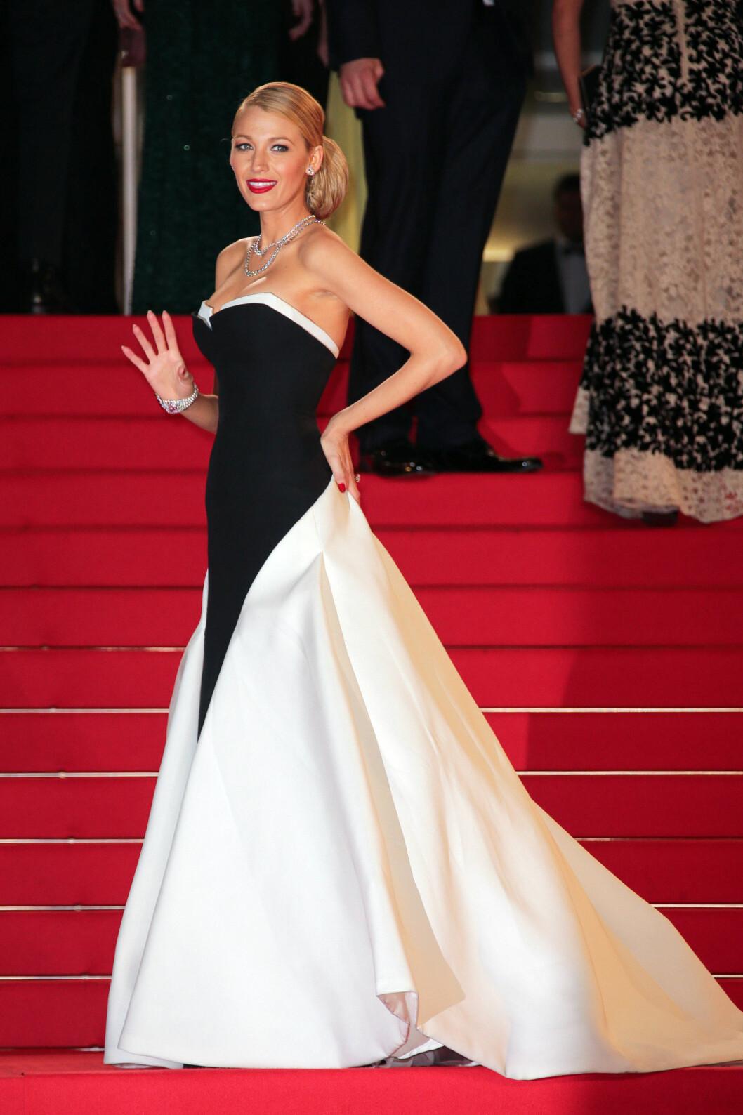 SMELLVAKKER: Skuespiller Blake Lively på den årlige filmfestivalen i Cannes og premieren til filmen The Captive.   Foto: Oraito / Splash News/ All Over P