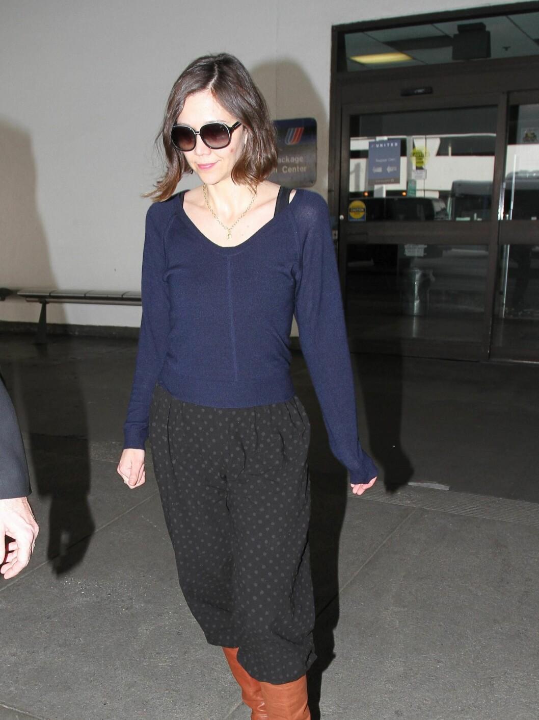 Maggie har en tilbakelent stil til hverdags. Foto: All Over Press