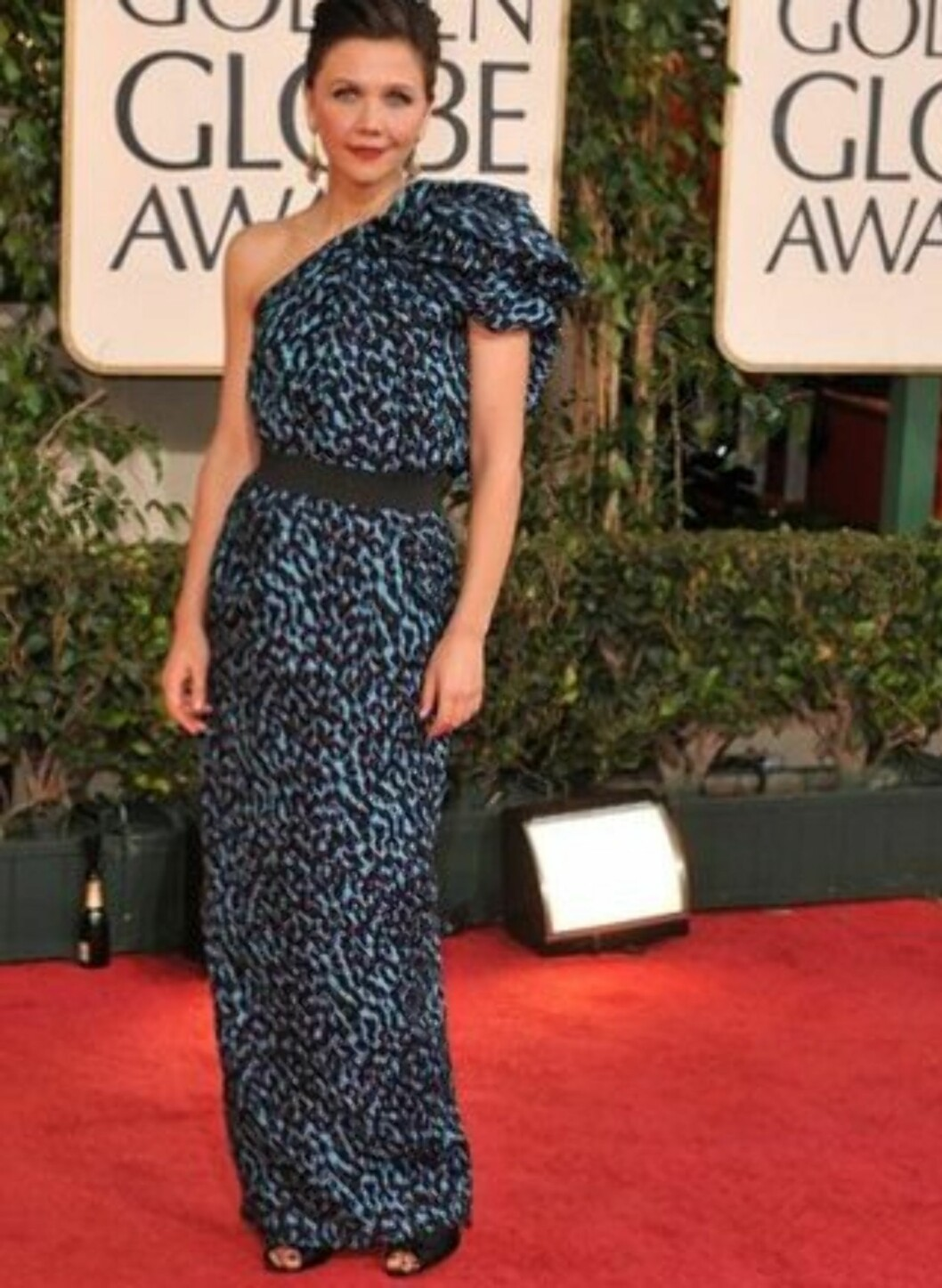 I Lanvin-kjole på fjorårets Golden Globe.