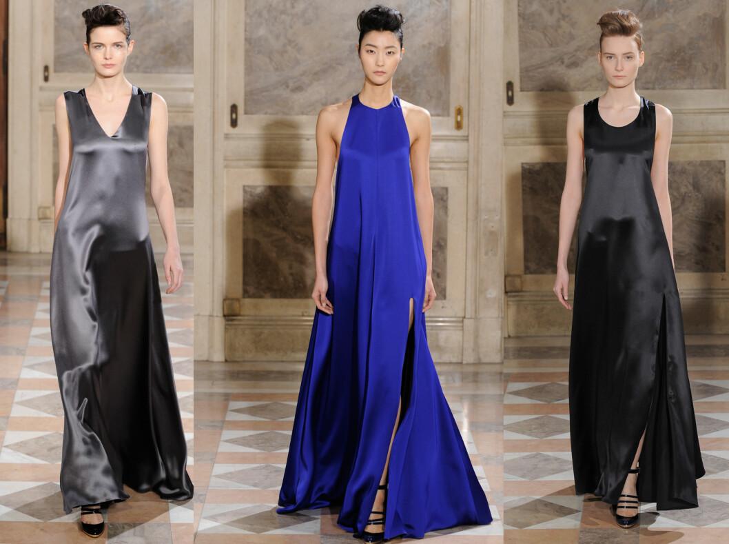 BOUCHRA JARRAR: Årets Oscar-kjoler blir enkle og i silke om Bouchra Jarrar får velge. Foto: All Over Press
