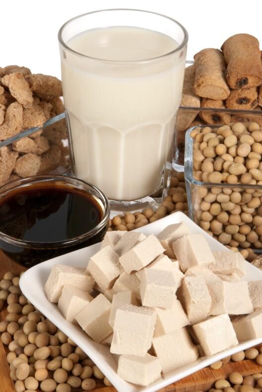 <strong>SOYAMELK:</strong> Inneholder flest kalorier. Den er også rik på proteiner. Foto: PantherMedia / Iwona Grodzka