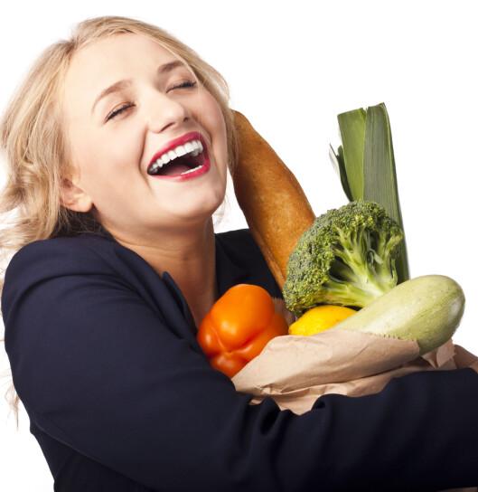 GODT VALG: Uansett om du ikke blir vegetarianer, bør du spise masse grønnsaker! Foto: Colourbox