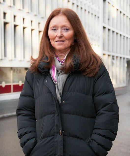 LEDER: Else Støring er seksjonsleder i Kreftforeningen. Foto: Privat