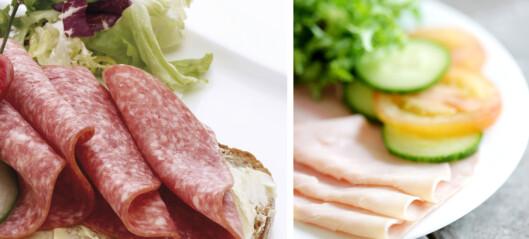 Bytt ut salami med kokt skinke
