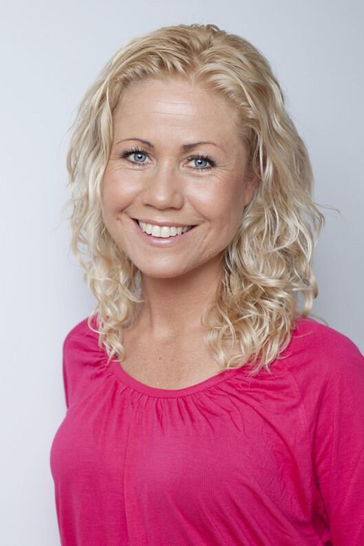 ANBEFALER LETTMARGARIN: Klinisk ernæringsfysiolog Tine Sundfør. Foto: All Over Press