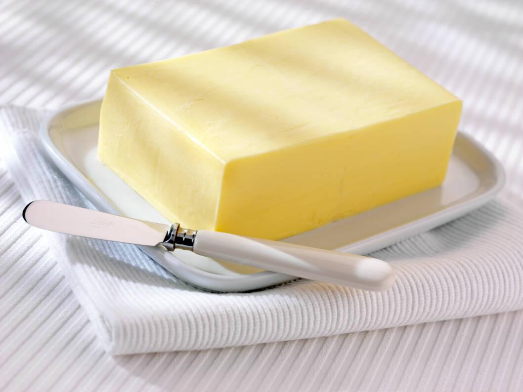 METTET FETT: Spiser du mye smør og andre råvarer med mye mettet fett?  Foto: All Over Press