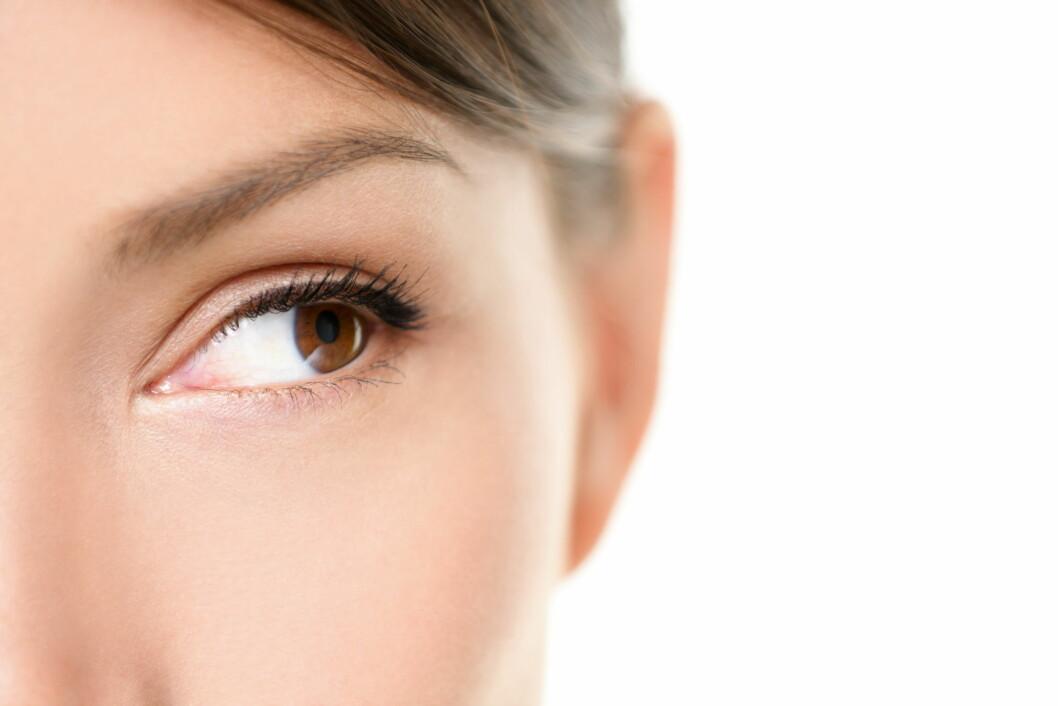 TYNN INNERST: Eyelineren blir ekstra fin om du lager streken så tynn som mulig inn mot nesen. Om du vil vinge den ut i ytre øyekrok, bør du sørge for å gi den et løft og avslutte med en spiss, ikke en butt ende.  Foto: Maridav - Fotolia