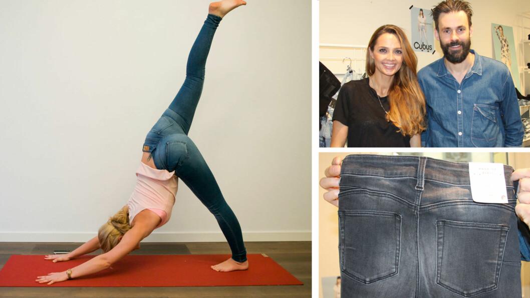 DENIMNYTT: Både Never Denim og Cubus satser stort på jeans denne våren, og push up-effekt og supermyke materialer er noen av nyhetene vi har i vente. Foto: Per Ervland og Stine Therese Strand