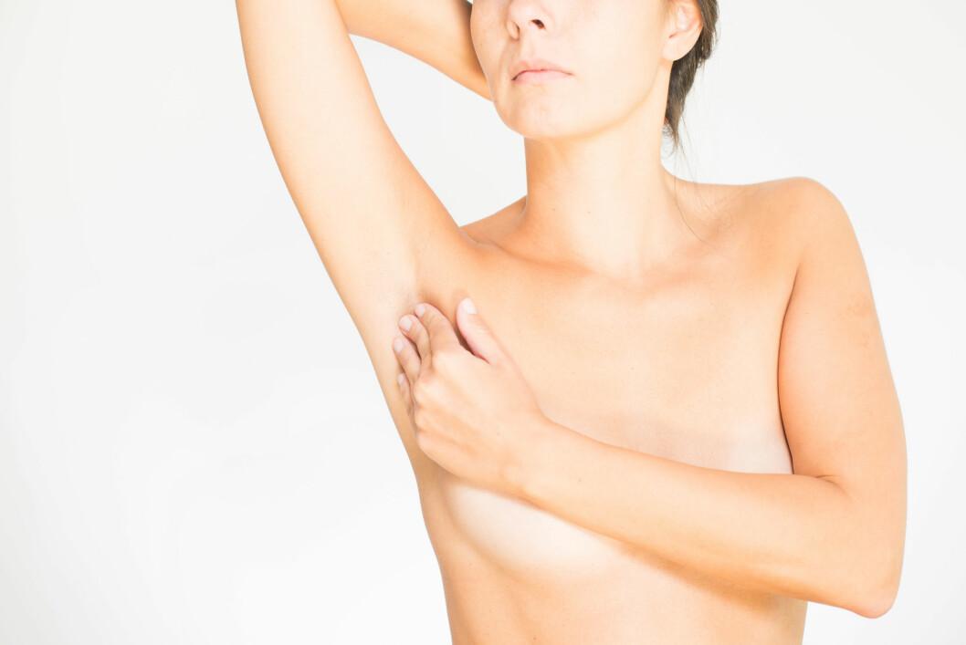 <strong>ARMHULEN:</strong> En kul under armen kan også skyldes hovne lymfeknuter. Det kan være på grunn av en bakterie-  eller virusinfeksjon, eller fordi de produserer kreftceller. Foto: Lars Zahner / Alamy/All Over Press