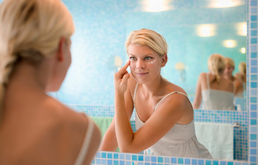 FET ELLER TØRR: For å finne riktig krem, er det viktig å vite hvilken hudtype du har, men du bør også vite hvordan hudtilstanden din er til envher tid.  Foto: diego cervo - Fotolia