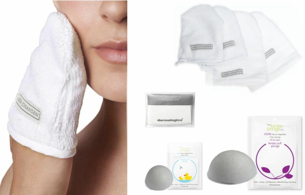 MICROFIBERRENS: Vi har funnet produktene som renser huden din helt uten ukjente kjemikalier og tilsetningsstoff! Foto: Produsentene