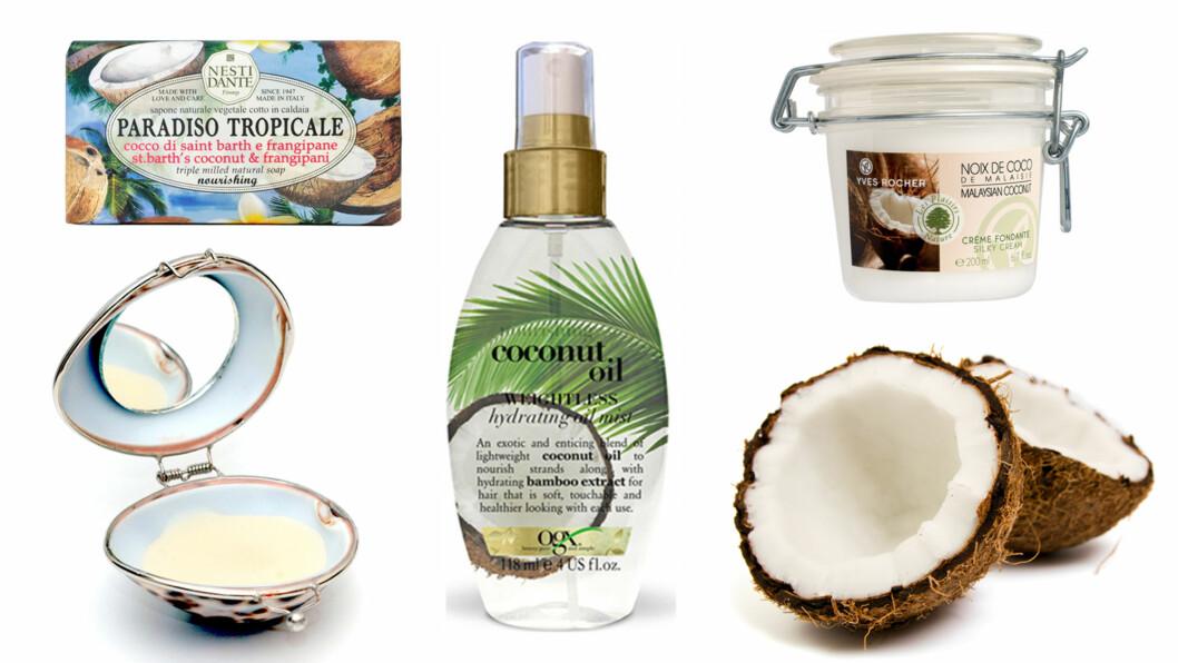 HELT KOKOS: Kokos kan brukes til mer enn i asiatiske matretter. Foto: Produsentene og Scanpix