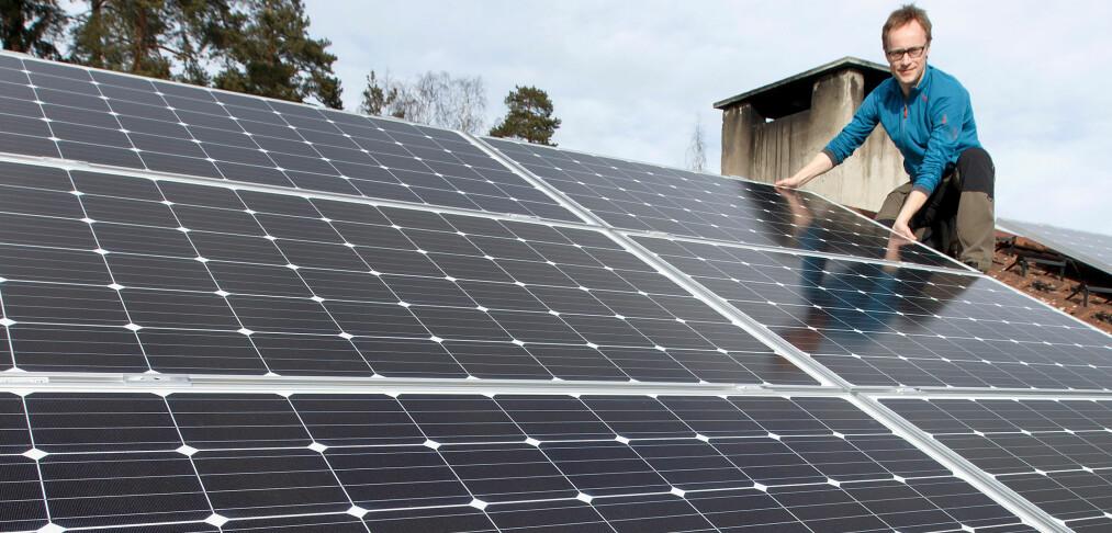 Vil kreve solcellepanel på hyttetak
