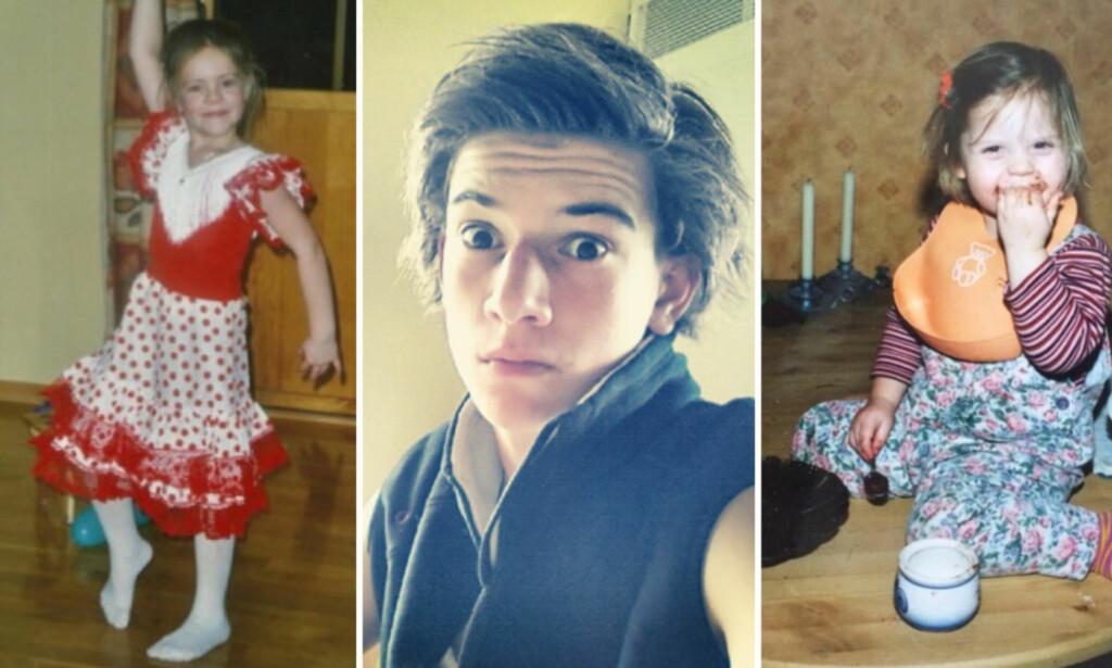 UNGE STJERNER: Det er ikke like lett å kjenne igjen alle «Skam»-stjernene på deres barnebilder. Foto: Instagram