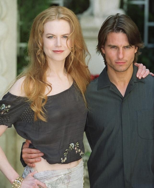 VAR GIFT: Nicole Kidman var gift med Tom Cruise i 11 år. Sammen adopterte de to barn. Her er paret sammen i 1999. Foto: AFP / NTB Scanpix