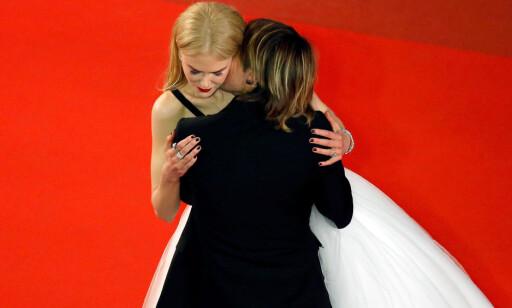 VISTE FØLELSER: Nicole Kidman og ektemannen Keith Urban viste tydelig følelser under filmfestivalen i Cannes. Foto: Reuters / NTB Scanpix