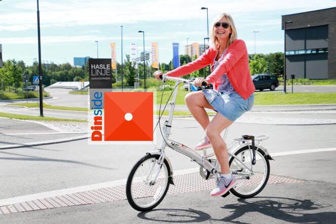 """<strong>YESS 20"""" CLASSIC:</strong> Det blir rett og slett vanskelig å sykle når girene ikke fungerer og den ene pedalen ikke vil sitte på ... Nei, nei nei ... Foto: Ole Petter Baugerød Stokke"""