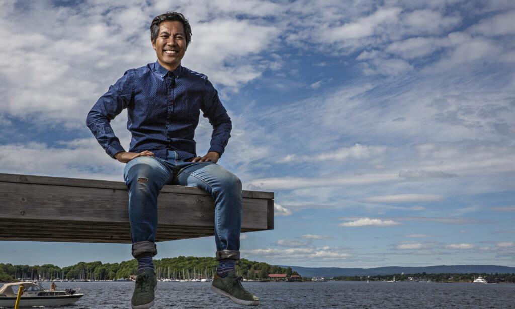 SOMMERÅPEN-AKTUELL: Christian Strand er en av 16 NRK-profiler som i år skal lede NRKs Sommeråpent. Foto: Jørn H Moen