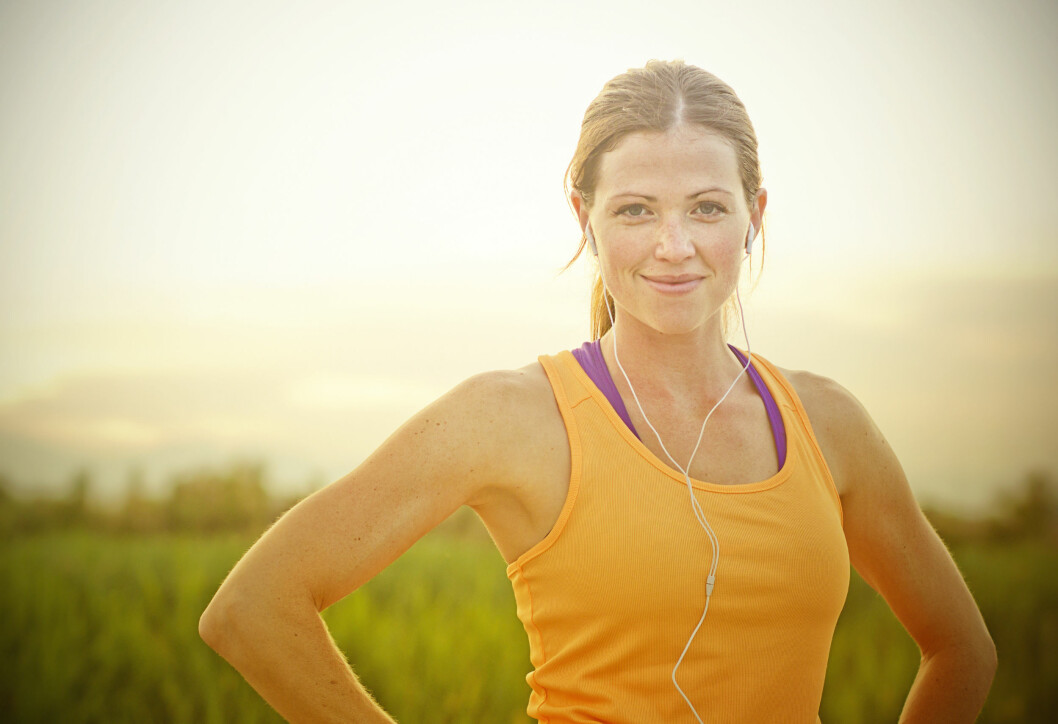 OPP AV SOFAEN: Det er ikke bare kroppen som nyter godt av fysisk aktivitet. Hjernen holder seg frisk også. Foto: NTB Scanpix