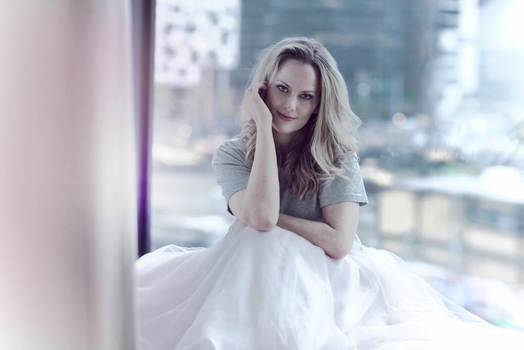 OPERASANGER: Mari Eriksmoen drømte om å slå gjennom med sang sammen med bestevenninnen Ina Kringlebotn. Nå er det bare hun igjen. Foto: Astrid Waller
