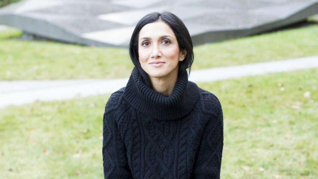 ENDOMETRIOSE: Journalist og blogger, Mina Ghabel Lunde, åpner opp om vanskeligheten for å bli gravid. Foto: Guro Holmene