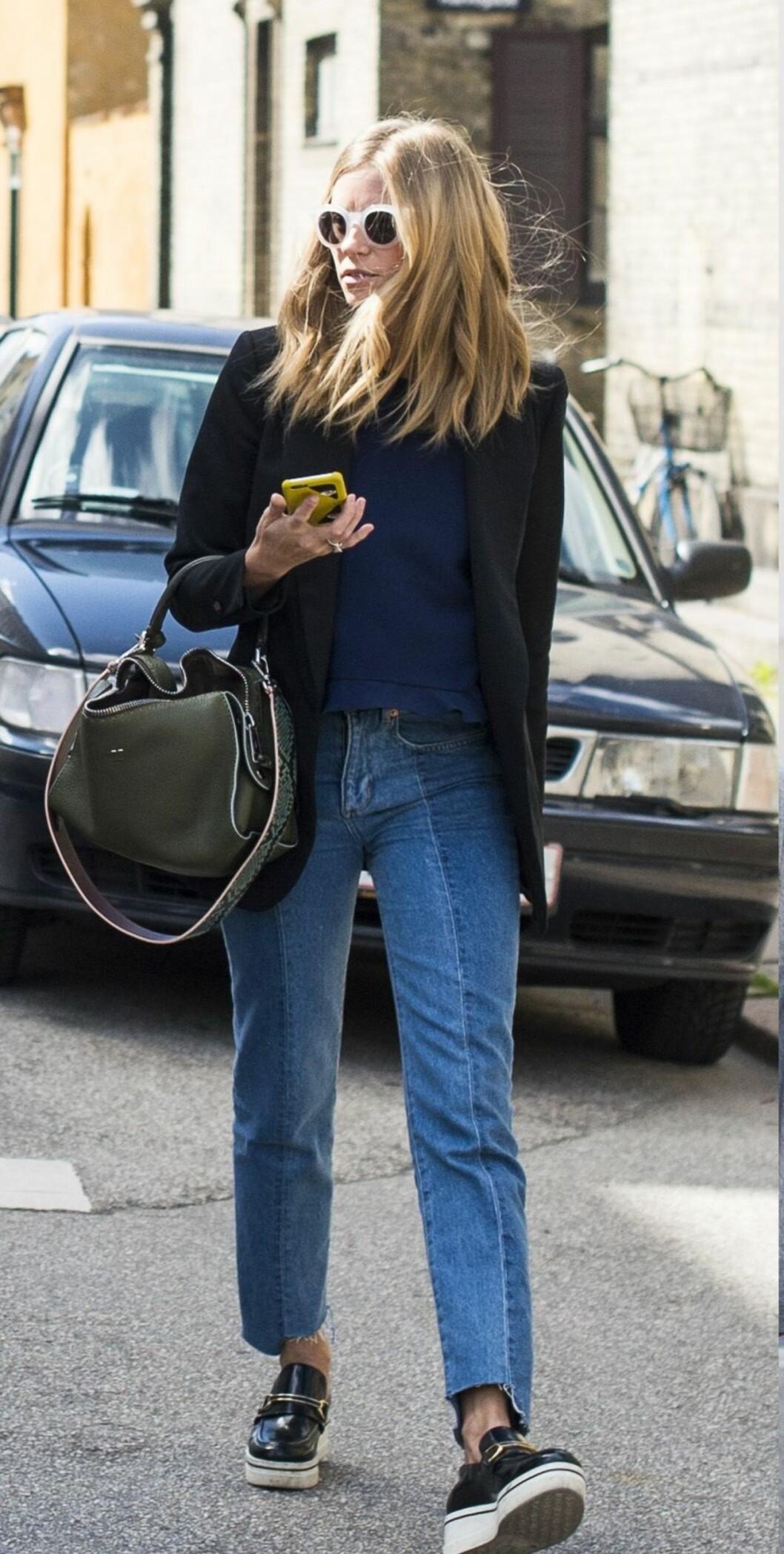 TREND 2016: Oppklipte jeans Foto: Rex Features