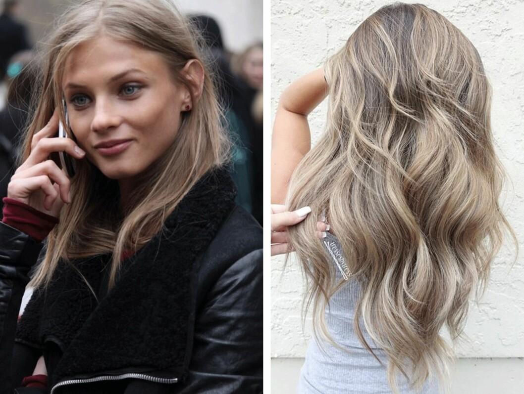 BEIGE: Den nye trendfargen er en nyanse av blond. Foto: Skjermdump / Pinterest