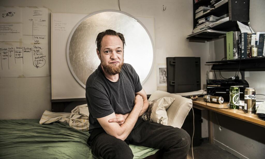 TRAKK SEG: Den kontroversielle kunstneren Lars Cuzner har selv sittet i flere utvalg i Kulturrådet, men i fjor vår fikk han nok og trakk seg. Foto: Lars Eivind Bones/Dagbladet