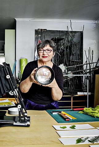 Kunstneren Galina Manikova.  Foto: Nina Hansen / Dagbladet