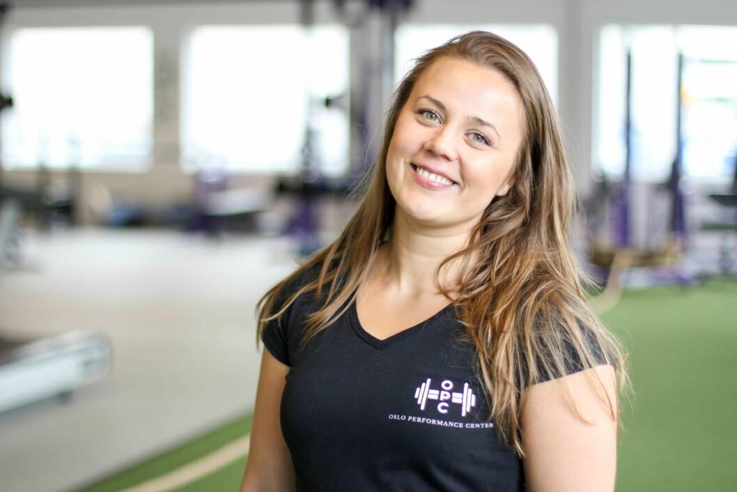ETTERLYSER TRENINGSFORNUFT: Monica J.Olsen er personlig trener og mener treningskulturen er på villspor, med et utall pornografiske poseringer i sosiale medier. Foto: Foto:Privat