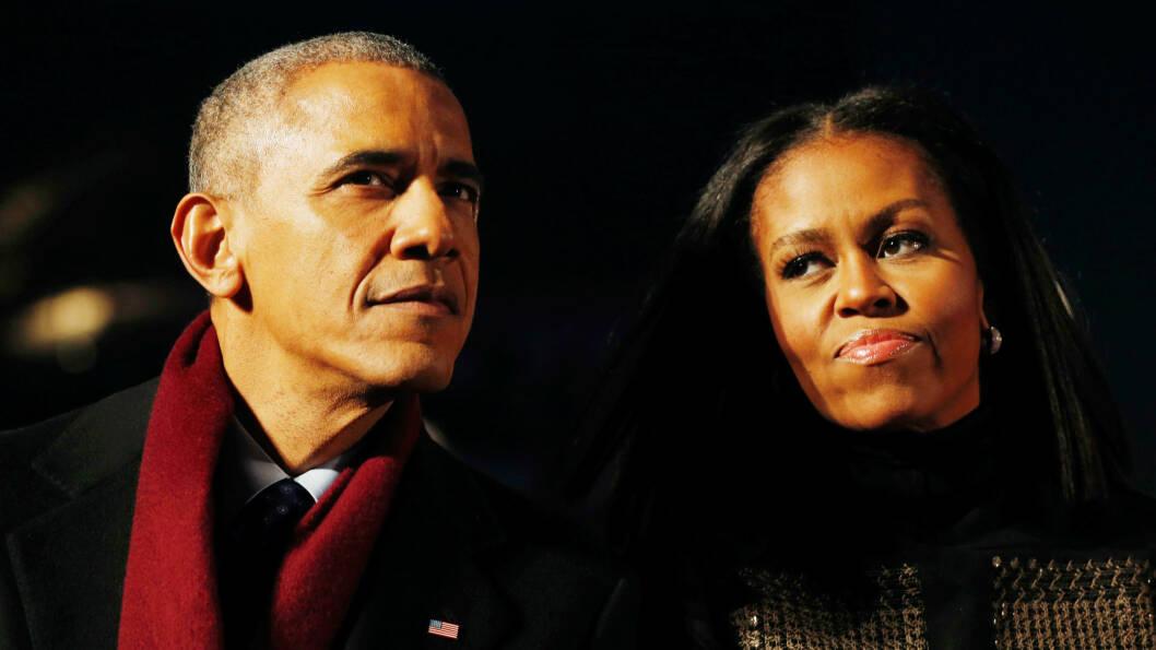 MICHELLE OBAMA: Til tross for at førstedamen Michelle Obama jobbet iherdig for å sørge for at USAs 45. president ble en kvinne holdt det dessverre ikke. Men i et intervju med People ber hun oss om å ikke være bekymret for fremtiden, men heller se fremover.  Foto: NTB Scanpix