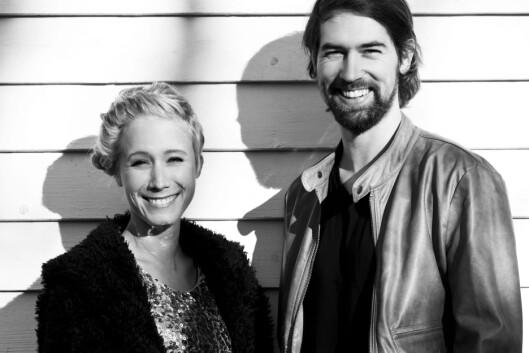 ELEKTROPOPDUO: Mathilde utgjør sammen med musikerkollega Stig-Erik Steimler duoen VLN. (Og ja, det uttales villain.)