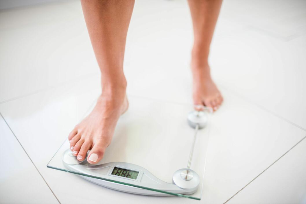 IKKE BARE UNDERVEKTIGE: Normalvektige og overvektige har også spiseforstyrrelser.  Foto: Shutterstock / wavebreakmedia