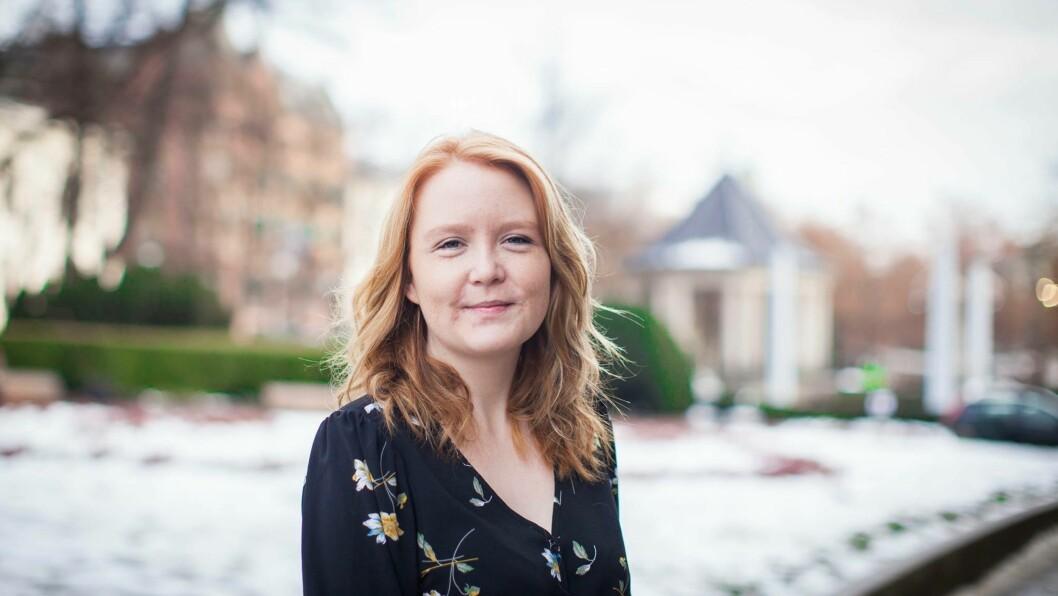 SPISEFORSTYRRELSE: Anette Wingerei Stulen forteller om årene med spiseforstyrrelsen.  Foto: Privat