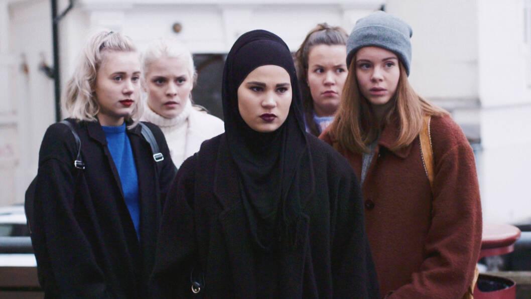 SKAM: Nå kommer den amerikanske versjonen av Skam, og det eneste vi tenker på er: Hvem kommer til å spille disse jentene? Foto: NRK