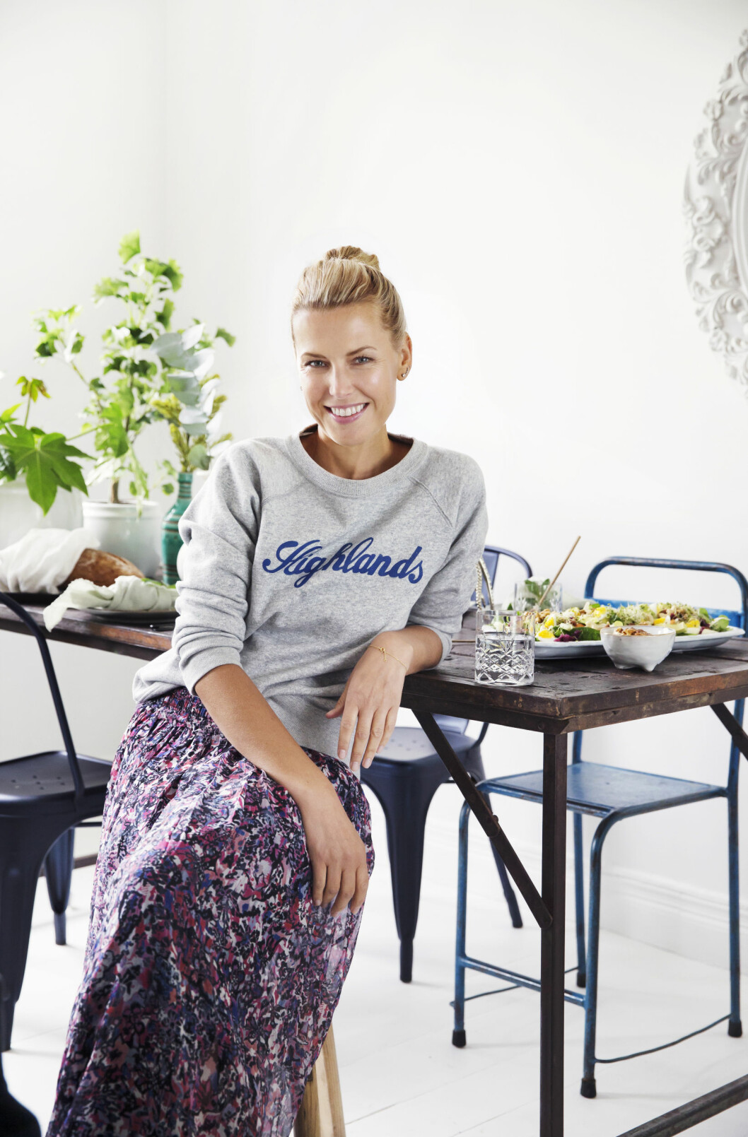 - Vibeke Klemetsen Foto: Yvonne Wilhelmsen Styling: Tone Kroken Salatbib salater Foto: All Over Press Norway
