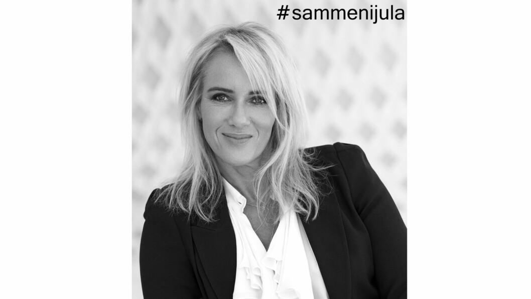 #SAMMENIJULA: Ansvarlig redaktør i KK.no oppfordrer til å spre samhold og glede til dem som ikke har det like bra som deg.  Foto: Janne Rugland