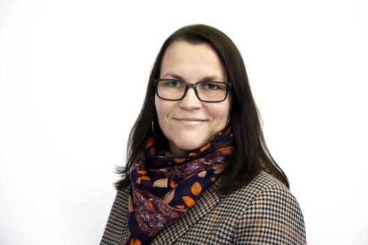 <strong>KORTERE LEVEALDER:</strong> Margrethe Aulie, kommunikasjonsansvarlig ved Rådet for psykisk helse, forteller at ensomhet faktisk kan føre til kortere levealder dersom det vedvarer.  Foto: Paal Audestad