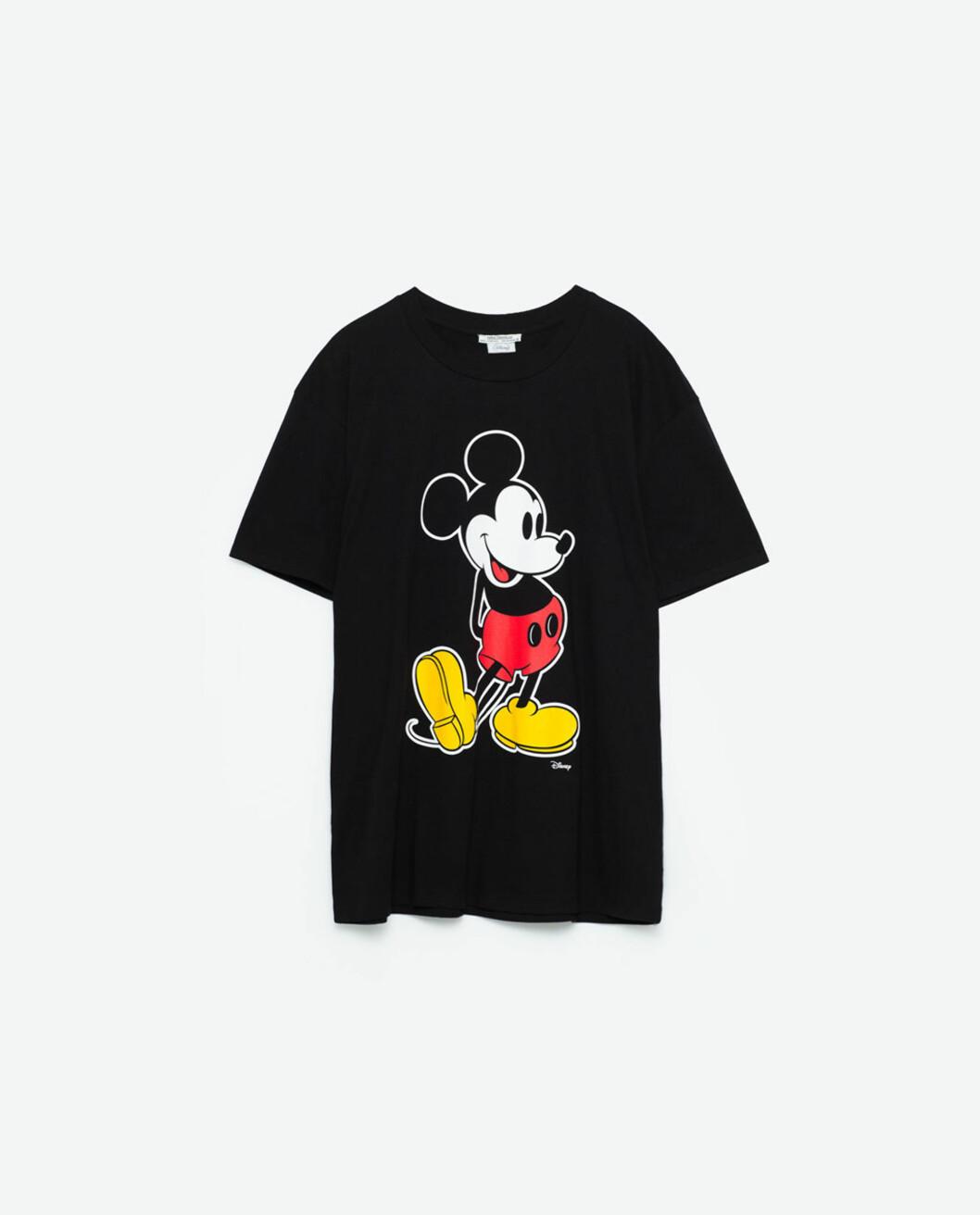 T-skjorte fra Zara | kr 169 | http://www.zara.com/no/no/trf/t-skjorter/t-skjorte-mikke-mus-c269214p3812537.html