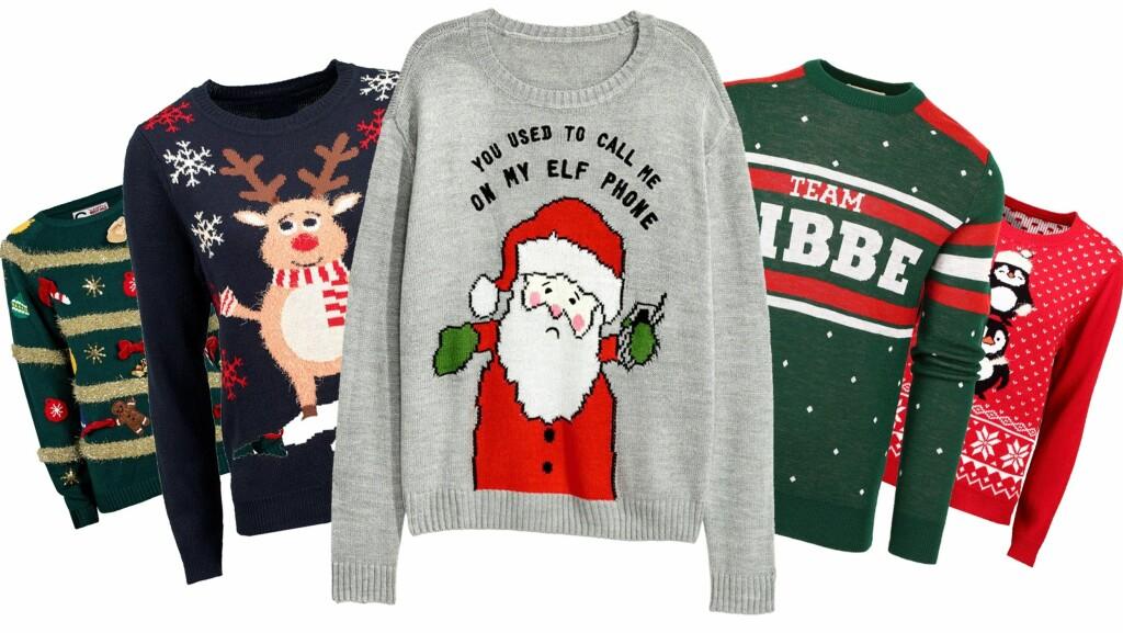 526be6038 Ugly christmas sweater: Her finner du årets beste julegensere - KK