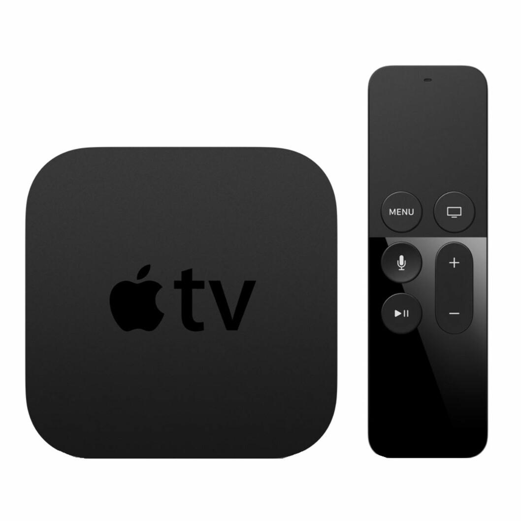 Apple TV mediespiller via Elkjop.no   kr 1990   http://www.elkjop.no/product/tv-lyd-og-bilde/mediaspiller/APTV64GBND/apple-tv-mediespiller-64-gb?scid=SEM6282&gclid=CjwKEAiAyO_BBRDOgM-K8MGWpmYSJACePQ9CrdsReY-4uULYMnHf6cZRdiaCLx3OdYb9JryxddiwcBoCg5Lw_wcB