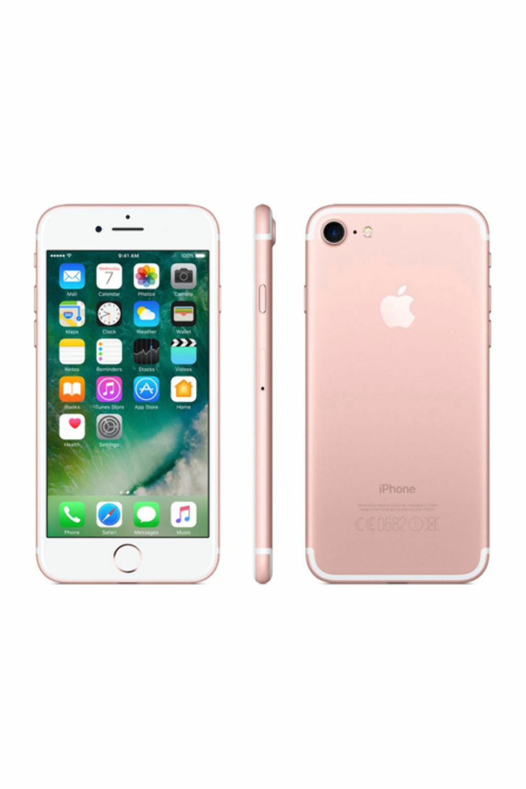 iPhone 7 fra Apple via Ellos.no   kr 8999   https://track.adtraction.com/t/t?a=1068408670&as=1115634940&t=2&tk=1&url=http://www.ellos.no/elektronikk/mobiltelefoni/smartphones/iphone?intcmp=EN_1647_ellostab_elektronik_splash_spot1_iphone7&pid=559840